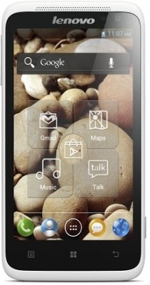 Lenovo S720 White available at Flipkart for Rs.9900