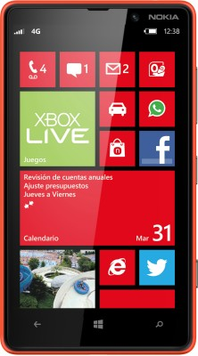Nokia Lumia 820 Red