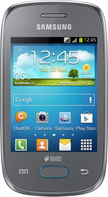 Samsung Galaxy Pocket Neo S5312 Metallic Silver available at Flipkart for Rs.5189