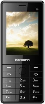 Karbonn E5 Dual Sim Black
