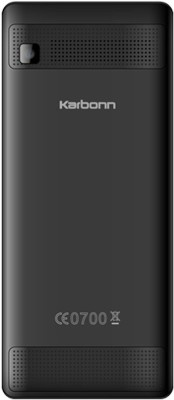 Karbonn E5 Dual Sim - Black (Black)