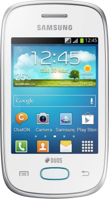 Samsung Galaxy Pocket Neo S5312 Ceramic White, 4  GB available at Flipkart for Rs.5499