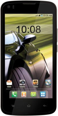 Intex Aqua Speed (Black-Champagne)