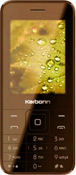 Karbonn K Phone 1 Dual Sim Brown