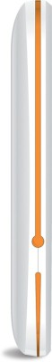 iBall 2.4 Sumo-G Dual Sim (White, Orange)