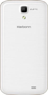 Karbonn Titanium S6 (White and Gold, 8 GB)