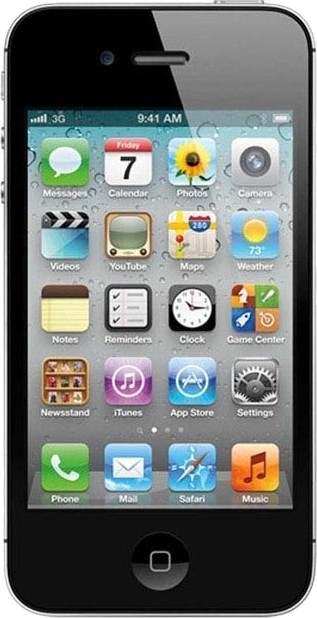 Apple iPhone 4 Black, with 8 GB