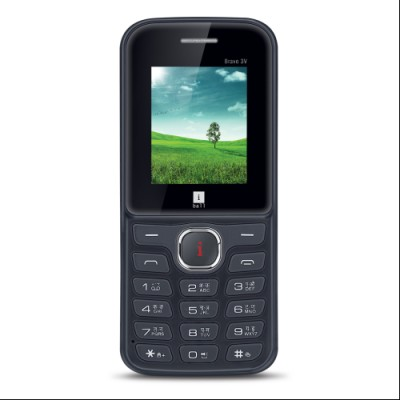 iBall 1.8 Bravo 3V (Black and Strawberry)