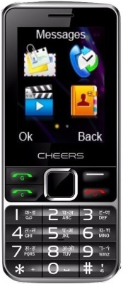 CHEERS ALL GSM+CDMA SIM PHONE (BLACK)