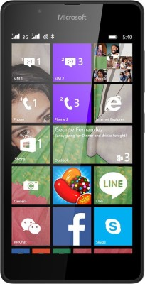 Microsoft Lumia 540 (Black, 8 GB)