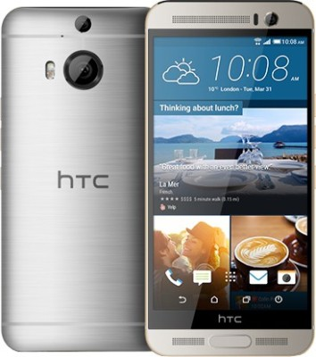 HTC One M9+ (Silver and Gold, 32 GB)