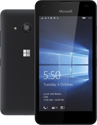 Microsoft Lumia 550 (Black, 8 GB)
