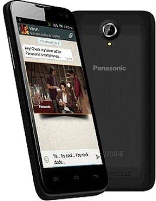 Panasonic T41 with 8 GB ROM (Black, 8 GB)