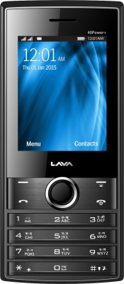 Lava KKT 40 Power Plus (Black & Grey)