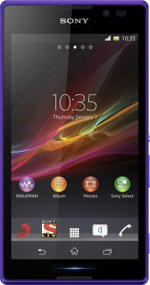 Sony Xperia C (Purple, 4 GB)