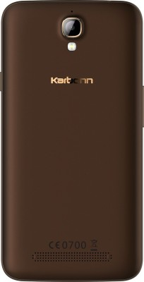 Karbonn Quattro (4G) L50-HD (Coffee, 16 GB)