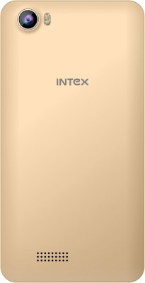 Intex Aqua 4G Strong (Champagne, 4 GB)
