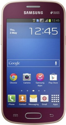 Samsung Galaxy Trend S7392 Wine Red available at Flipkart for Rs.6490