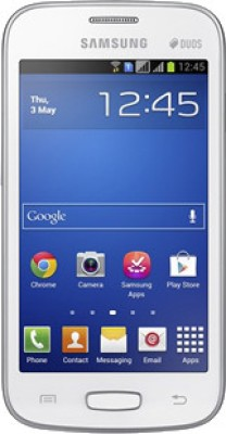 Samsung Galaxy Star Pro S7262 White, 4  GB available at Flipkart for Rs.4250