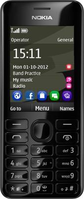 Nokia Asha 206 (Black)
