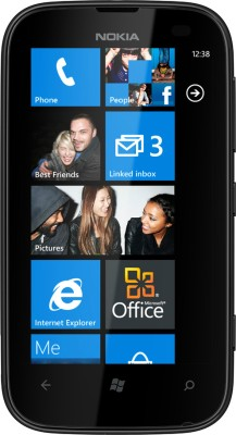 Nokia Lumia 510 (Black, 4 GB)