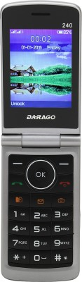 Darago 240 Flip Phone (Iron Grey)