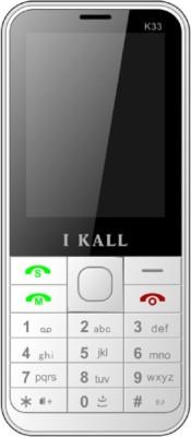 i KALL Dual Sim 2.4 Inch Bar phone with bluetooth-white