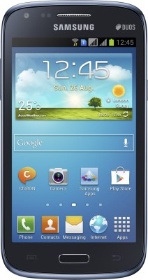 Samsung Galaxy Core I8262 Metallic Blue, 8  GB available at Flipkart for Rs.12000