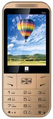 Iball Posh 2.8D Dual Sim - Gold (Gold)
