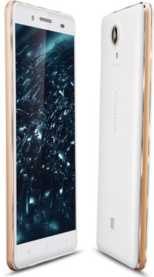 iBall COBALT SOLUS 4G (WHITE/GOLD, 16 GB)