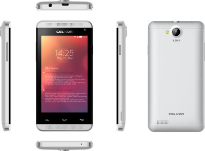 Celkon Campus A402 White (White, 4 GB)