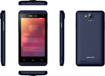 Celkon Campus A402 Blue (Blue, 4 GB)