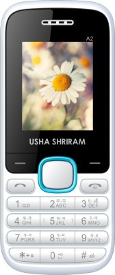 Usha Shriram A2 (White and Blue)