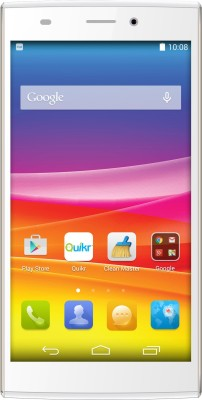 Micromax Canvas Nitro 2 (White & Gold, 16 GB)