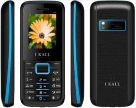 I KALL 1.8 INCH DUAL SIM MULTIMEDIA MOBILE WITH FM & BLUETOOTH,(K-88) BLUE (Black, Blue)