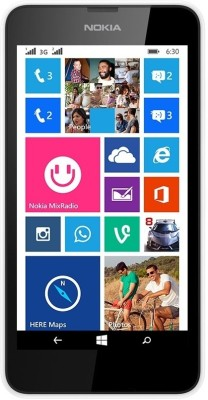 Nokia Lumia 630 Dual Sim (White, 8 GB)