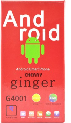 Camerii CM47Golden-Ginger Android (Golden, 256 MB)