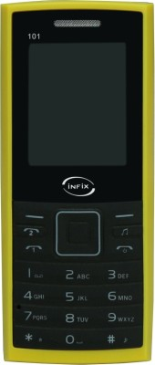Infix Infix 101- Black & Yellow (Black, Yellow)