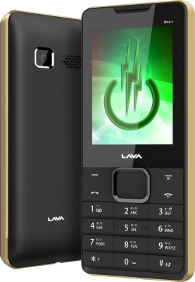 Lava KKT Uno+ (Black & Gold)
