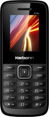 Karbonn K105s (Black and Red)
