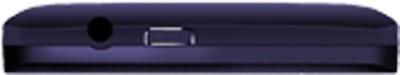 Karbonn A1 Plus Champ Alfa Dual Sim - Dark Black (Blue, 512 MB)