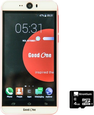 Good One Selfie (White, Red, 4 GB)