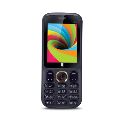 Iball 2.4 Neon Dual Sim - Black and Blue (Blue)