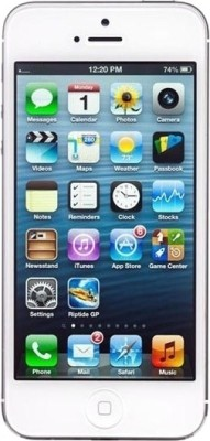 Apple iPhone 5 White, with 16 GB available at Flipkart for Rs.42800