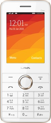 Lava Spark One (Black & Gold)