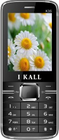 I KALL K35 Dual Sim Mobile With Torch Light-Black (2.4 Inch) (Black)