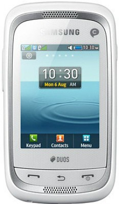 Samsung Champ Neo Duos C3262 Ceramic White available at Flipkart for Rs.3300