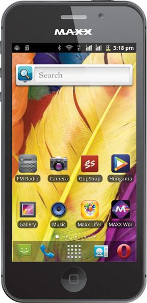 Maxx GenxDroid7 AX5i With 8 GB Memory Black