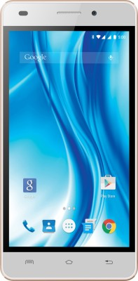 Lava X3 (White & Gold, 8 GB)