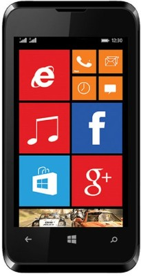 Karbonn Titanium Wind W4 (Black, 4 GB)